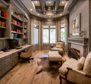 Miami Custom Home Office