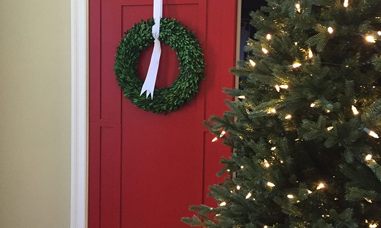 DIY Interior Door Holiday Decorations - Interior Door Installer in Miami